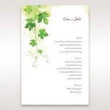 Green Natural Ivy - Menu Cards - Wedding Stationery - 34