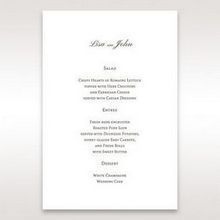Brown Jeweled Couture in Brown - Menu Cards - Wedding Stationery - 86