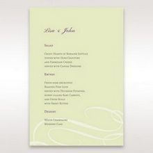 Green Butterfly in the Green Meadow - Menu Cards - Wedding Stationery - 64