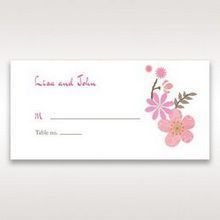 Pink Warm & Mellow Spring - Place Cards - Wedding Stationery - 73
