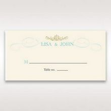 Yellow/Gold Regal Splendor - Place Cards - Wedding Stationery - 9