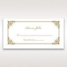 Yellow/Gold Romatic Classic - Place Cards - Wedding Stationery - 23