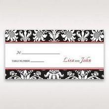 Black Majestic - Place Cards - Wedding Stationery - 66