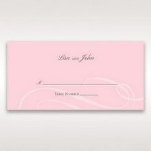Pink Simply Graceful - Place Cards - Wedding Stationery - 31