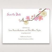 Pink Warm & Mellow Spring - Save the Date - Wedding Stationery - 49