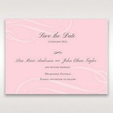 Pink Simply Graceful - Save the Date - Wedding Stationery - 2