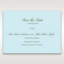 Blue Something Old and Blue - Save the Date - Wedding Stationery - 61