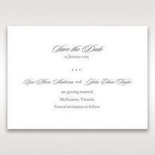 Black Majestic Black, White and Red - Save the Date - Wedding Stationery - 92