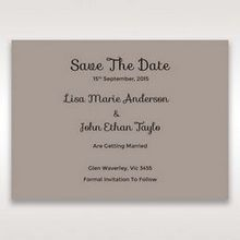 Silver/Gray Laser Peacock Laser Cut Pocket With Foil - Save the Date - Wedding Stationery - 19