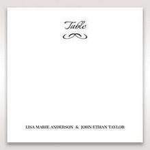 Black Laser Contempo Laser Cut Pocket - Table Number Cards - Wedding Stationery - 22