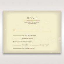Orange Faded Modern Retro - RSVP Cards - Wedding Stationery - 70