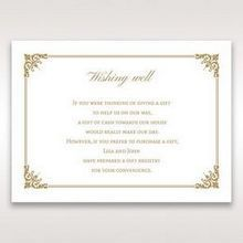 Yellow/Gold Romatic Classic - Wishing Well / Gift Registry - Wedding Stationery - 78