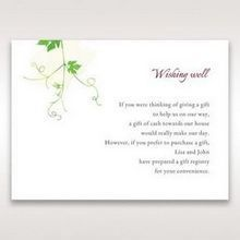 Green Natural Ivy - Wishing Well / Gift Registry - Wedding Stationery - 86