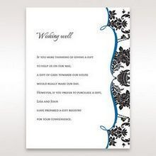Black Black Grandeur - Wishing Well / Gift Registry - Wedding Stationery - 3