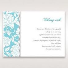 Blue Vintage Floral in Blue - Wishing Well / Gift Registry - Wedding Stationery - 43