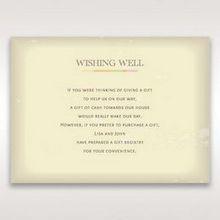Orange Faded Modern Retro - Wishing Well / Gift Registry - Wedding Stationery - 40