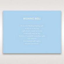 Blue Side by Side - Wishing Well / Gift Registry - Wedding Stationery - 10