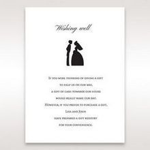 Black Traditional Birde and Groom - Wishing Well / Gift Registry - Wedding Stationery - 44