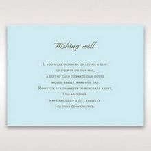 Blue Something Old and Blue - Wishing Well / Gift Registry - Wedding Stationery - 96