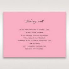 Pink Pretty in Pink Modern Couture - Wishing Well / Gift Registry - Wedding Stationery - 56