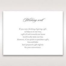 Black Majestic Black, White and Red - Wishing Well / Gift Registry - Wedding Stationery - 71