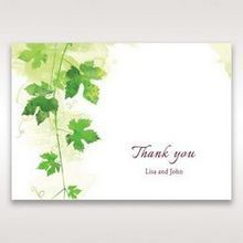 Green Natural Ivy - Thank You Cards - Wedding Stationery - 59