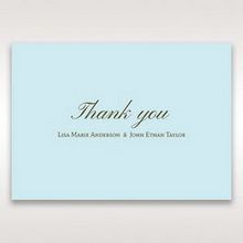 Blue Something Old and Blue - Thank You Cards - Wedding Stationery - 58