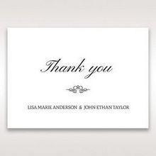 Silver/Gray Galaxy Gold - Thank You Cards - Wedding Stationery - 63