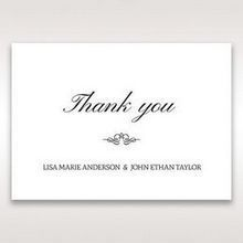 Silver/Gray Kinne Ivory - Thank You Cards - Wedding Stationery - 91