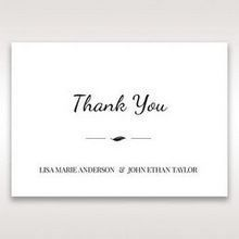 White Mystic Forest Laser Cut Wrap II - Thank You Cards - Wedding Stationery - 77