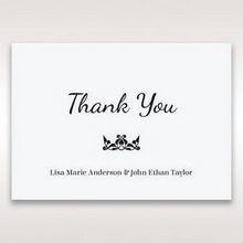 White Laser Gated Elegance Laser Cut Pocket - Thank You Cards - Wedding Stationery - 61