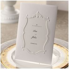 White Pearl Frame - Engagement Party Invitations - BH2011-E - 48818