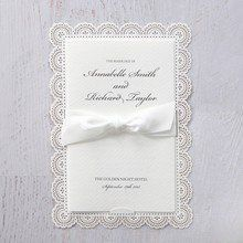 White Amabilis - Wedding invitation - 64