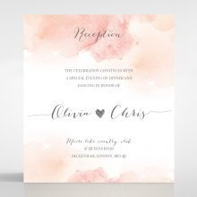 Blushing Rouge reception card DC116132-TR