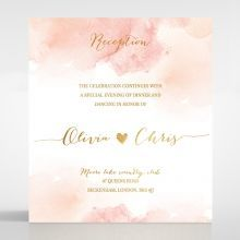 Blushing Rouge with Foil reception card DC116124-TR-MG