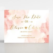 Blushing Rouge with Foil save the date DS116124-TR-MG