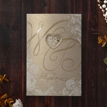 Yellow/Gold Golden Beauty - Wedding invitation - 59