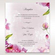 Purple Laser Cut Forest 3D Pocket - Reception Cards - Wedding Stationery - 32