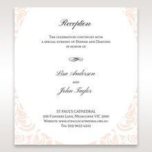 White Edge of Heaven - Reception Cards - Wedding Stationery - 61