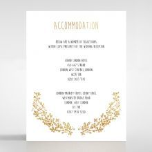 Charming Garland accommodation card DA116104-TR-GG