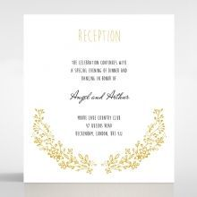 Charming Garland reception card DC116104-DG