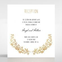 Charming Garland reception card DC116104-TR-GG
