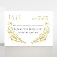 Charming Garland rsvp card DV116104-DG