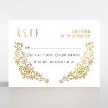 Charming Garland rsvp card DV116104-TR-GG