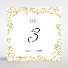Charming Garland table number card DT116104-DG