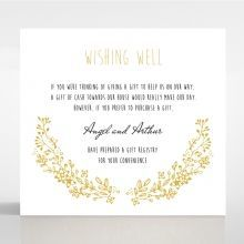 Charming Garland wishing well card DW116104-DG