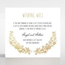 Charming Garland wishing well card DW116104-TR-GG