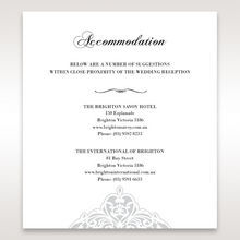 White An Elegant Beginning - Accommodation - Wedding Stationery - 90