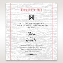 Brown Eternity - Reception Cards - Wedding Stationery - 8