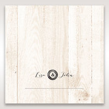 Brown Rustic Woodlands - Place Cards - Wedding Stationery - 39